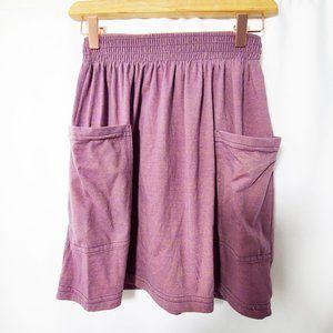 AMERICAN APPAREL Jersey Knit Pocket Mini Skirt EUC